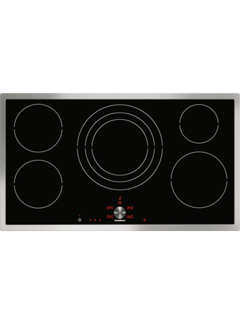 Induction cooktop 90 cm with frame