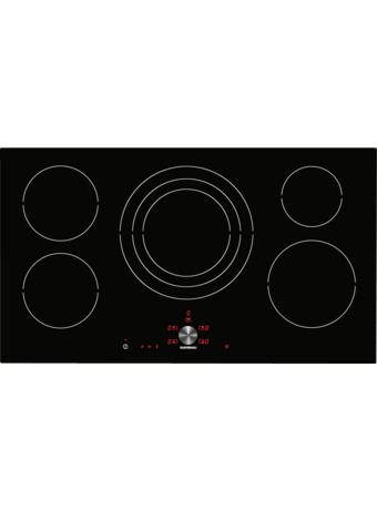 Induction cooktop 90 cm frameless