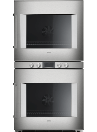 Double oven 76cm 400 series ss/glass R
