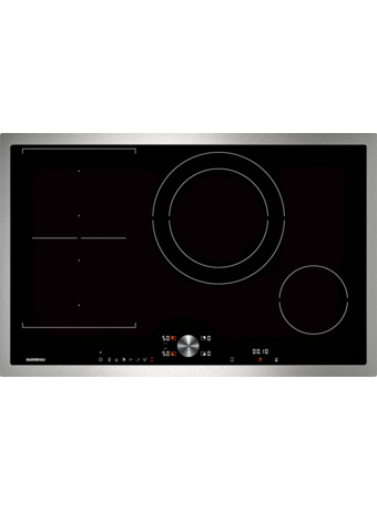 Induction cooktop 80 cm with frame