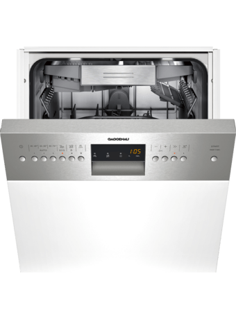 Dishwasher integrated 45 stainless steel