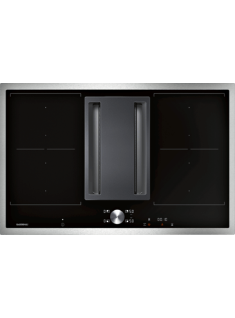 Induction cooktop ventilation 80cm frame