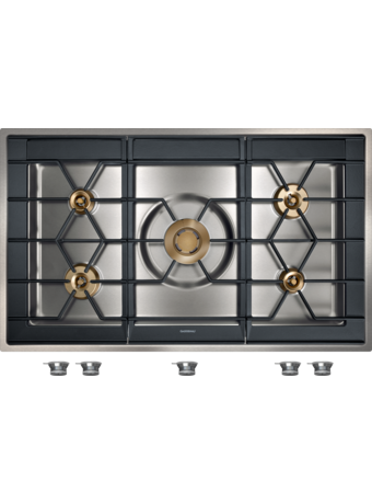 Gas hob 100cm for flush mounting