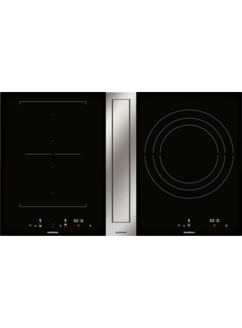 Induction cooktop w. downdraft vent. 400