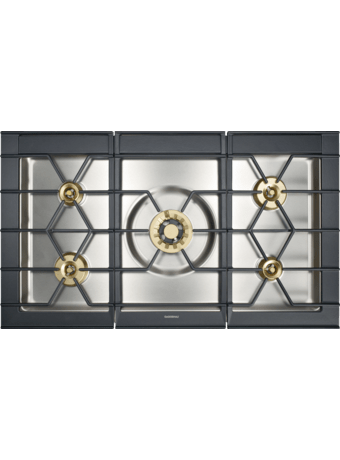 Gas hob 100 cm for flush mounting