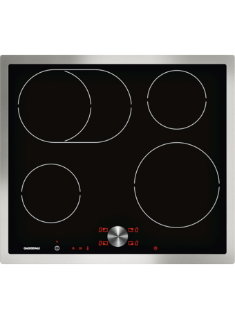Induction cooktop 60 cm with frame