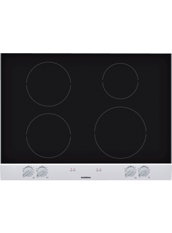 Glass Ceramic induction hob 70 cm alu