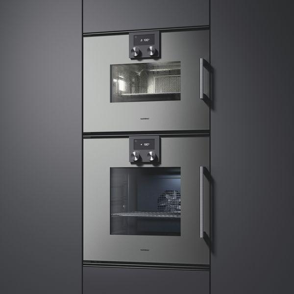 Farbe 2 Backöfen Serie 200 Gaggenau Metallic