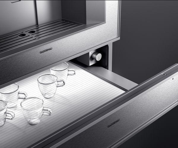 Serie400 Kaffeemaschine Wärmeschublade