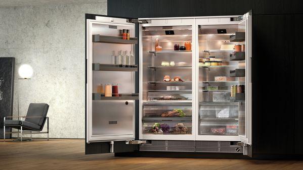 De aanpasbare vario 400 serie koelkasten gaggenau
