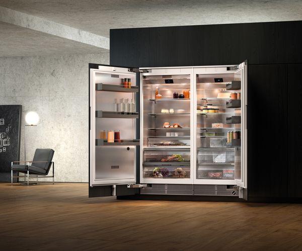 Vario Kühlgeräte-Serie400 Vario Kühlgerät in Kombination mit Vario Gefriergerät