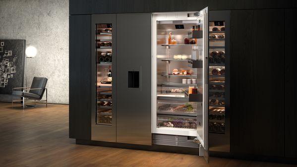Vario 400 serie wijnkast koel-vriescombinatie