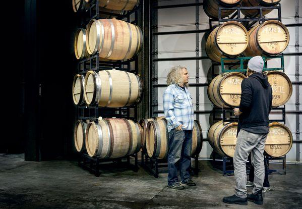 wijnmaker Charles Smith en wijnverkoper