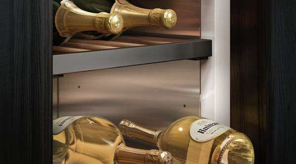 Vario 400 serie wijnkast verlichtingsdetail