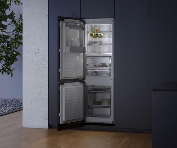 Side By Side Kühlschrank Vollintegriert : Personalisiertes kühlen: kühlgeräte serien 200 und 400 gaggenau