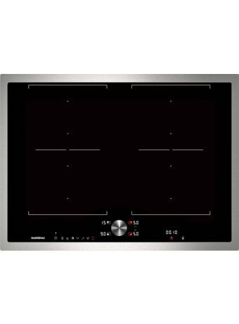 Induction cooktop 70 cm with frame