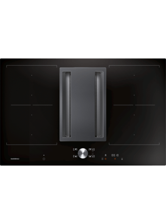 Induction cooktop ventilation 80cm flush