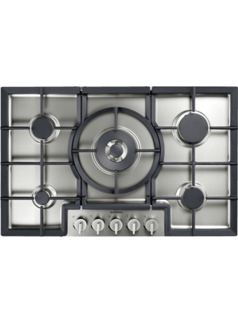 Gas hob 80 cm for flush mounting