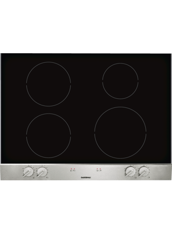Glass Ceramic induction hob 70 cm ss