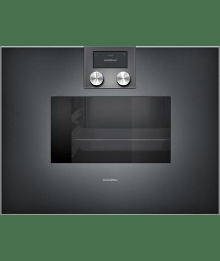 combi steam oven 400 series full glass door in gaggenau. Black Bedroom Furniture Sets. Home Design Ideas