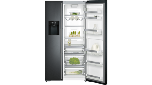Side By Side Kühlschrank Abstand Wand : Side by side serie mit frischkühlen nahe °c serie